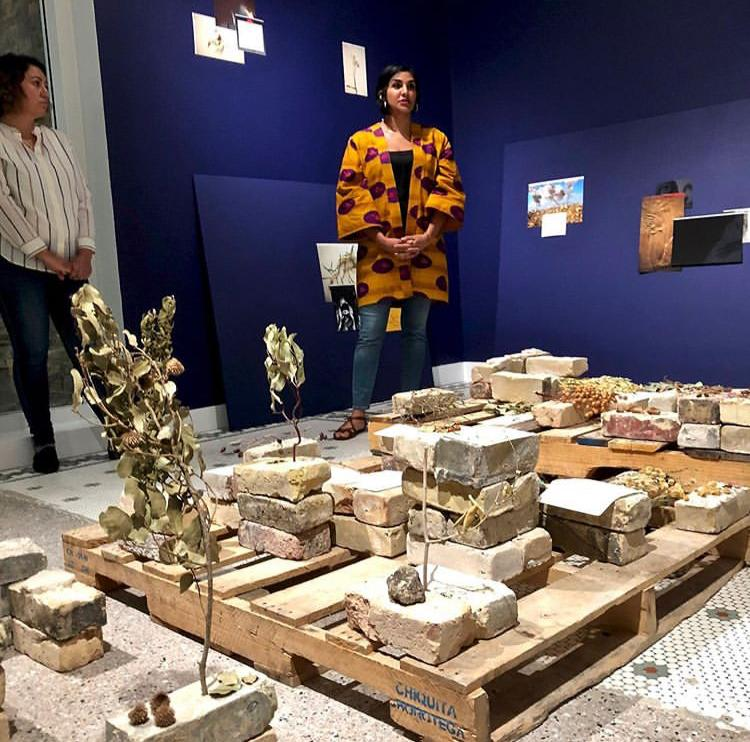 08/10/2019 - Heba Y. Amin co-curator of the group show 'History Is Not Here: Art and the Arab Imaginary' at Minnesota Museum of American Art, St Paul