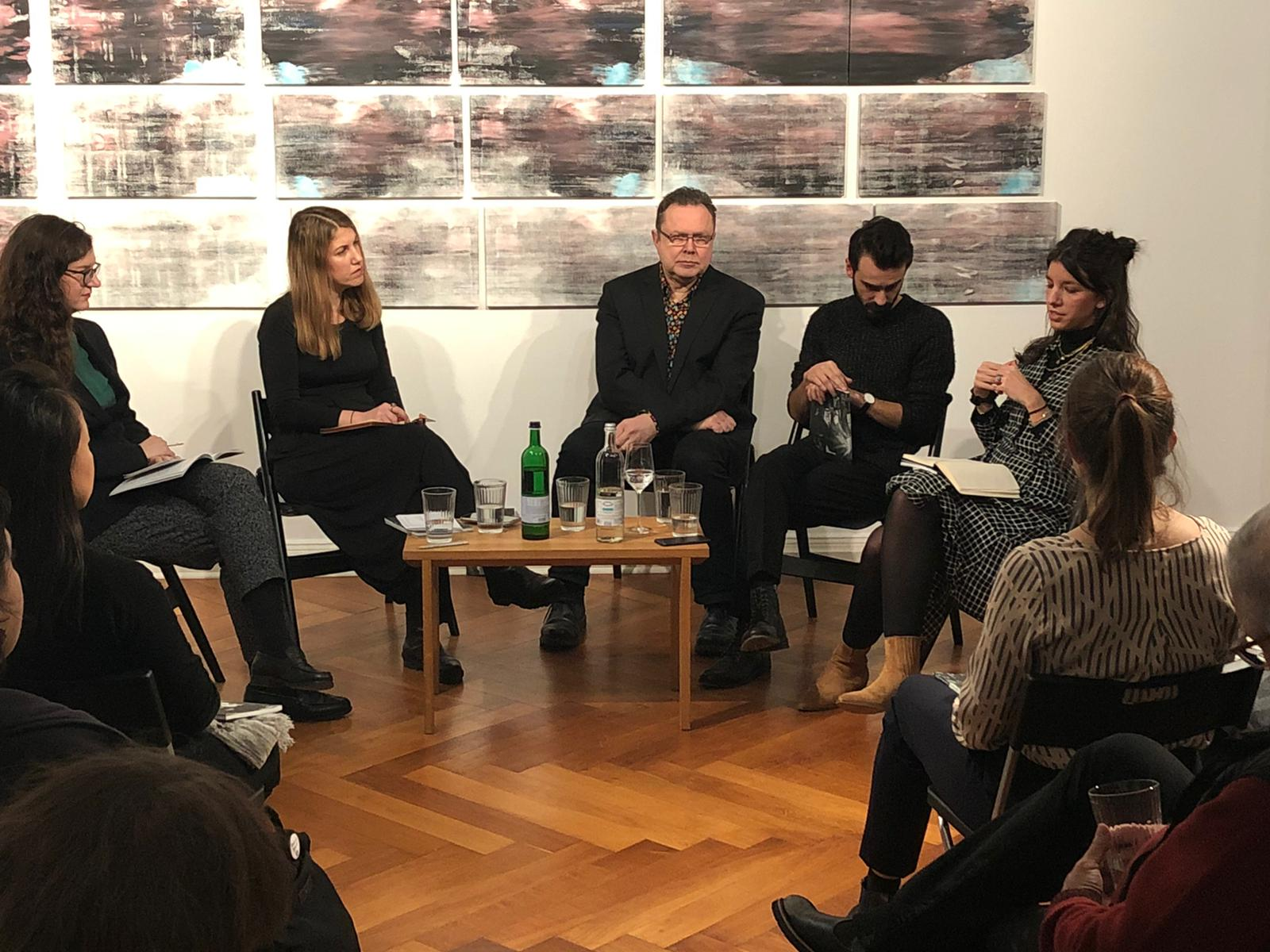 20/02/2020 - Alpin Arda Bağcık's catalog launch and conversation, Zilberman-Berlin