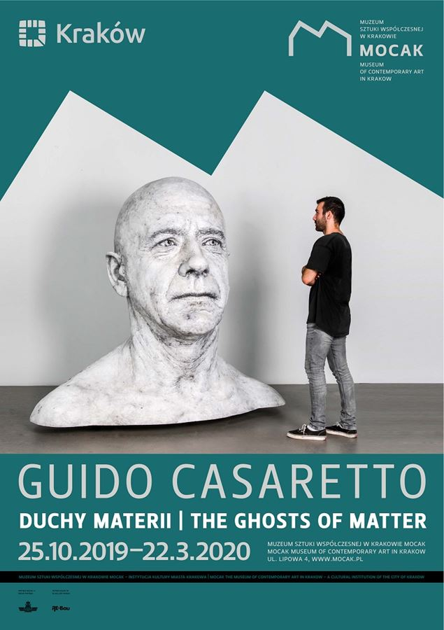 Guido Casaretto's s solo show 'The Ghosts of Matter' at MOCAK, Krakow (08/10/2019)