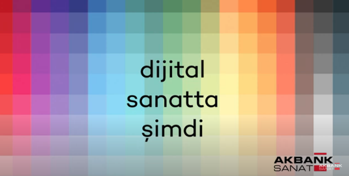 05/08/2020 - Selçuk Artut in the talk series 'Digital Art Now' by Akbank Sanat, Istanbul