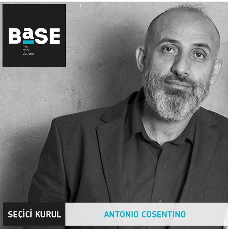 26/06/2019 - Antonio Cosentino in the selection committee of 'BASE', Istanbul