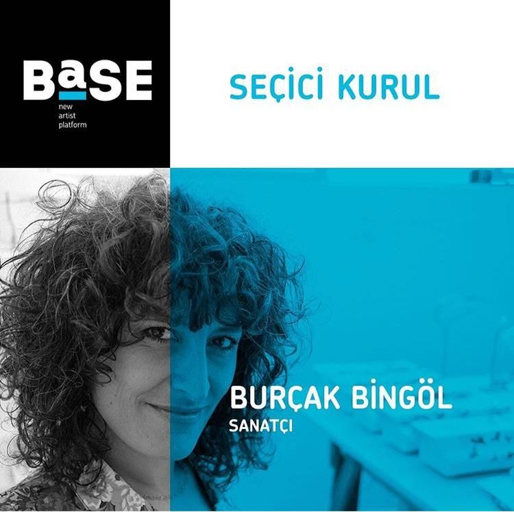 11/12/2018 - Burçak Bingöl in the selection committee of 'BASE', Istanbul