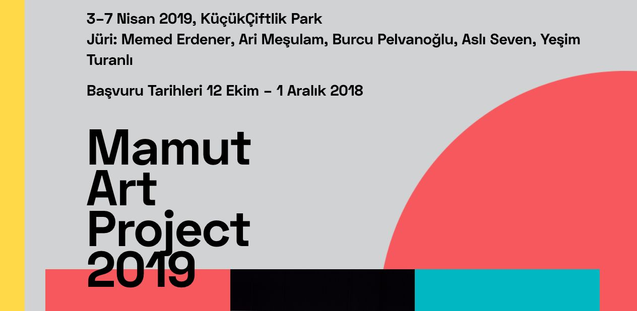 11/12/2018 - Memed Erdener in the jury of Mamut Art Project 2019 at KüçükÇiftlik Park, Istanbul