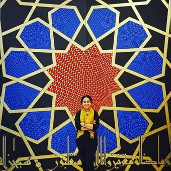 29/05/2018 - The New Islamabad International Airport features a mural by Aisha Khalid