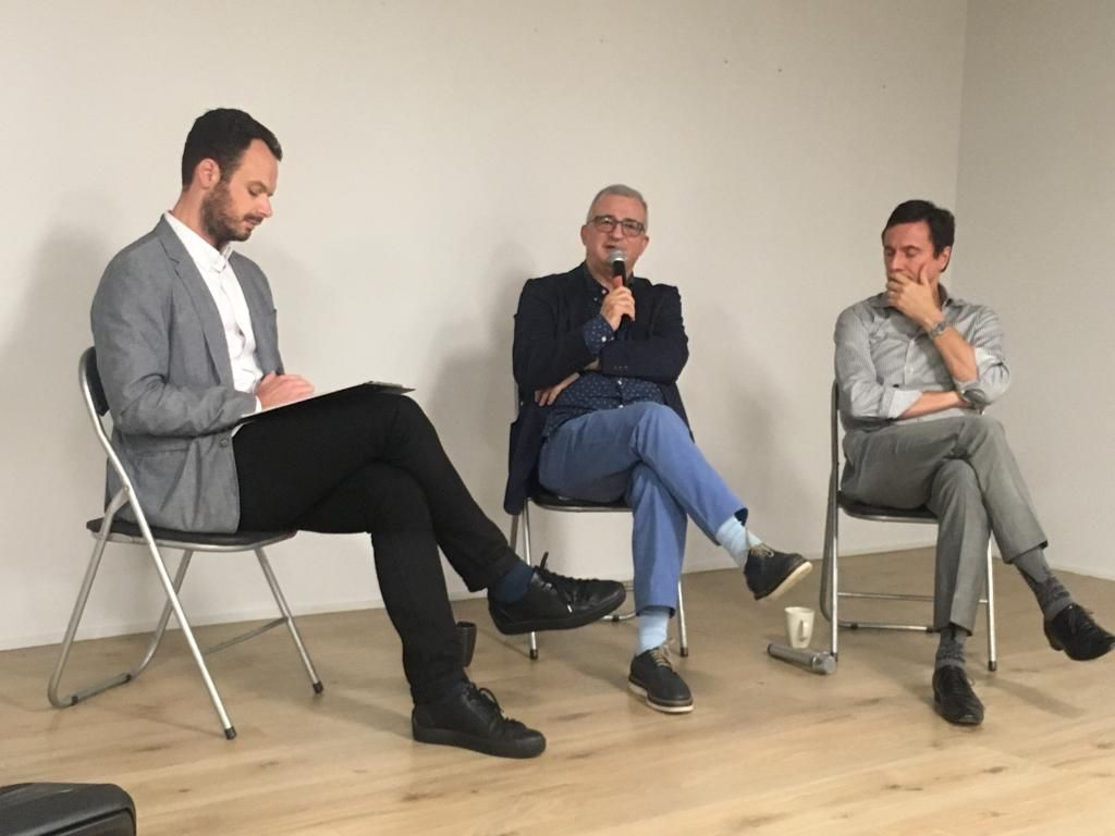 19/04/2019 - Moiz Zilberman talked at 'Art Talk: The Institution-Like Gallery', Rossi & Rossi, Hong Kong